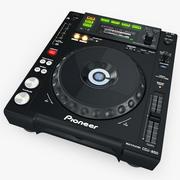 Digital Player Pioneer CDJ 850 3d model