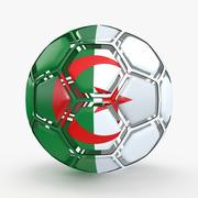 Le football dissout l'Algérie 3d model