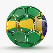 サッカーボールはブラジルを崩壊させた 3d model