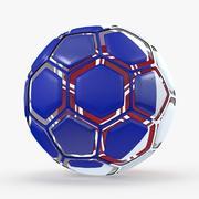 Soccerball desmontou a França 3d model