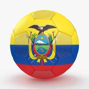 Soccerball Equateur 3d model