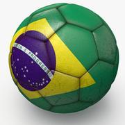 巴西职业足球赛 3d model