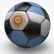 Soccerball Argentine 3d model