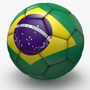 Soccerball pro clean Brésil 3d model