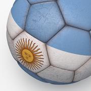 Soccerball pro Argentina 3d model