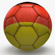 足球职业德国 3d model