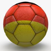 Soccerball pro Duitsland 3d model