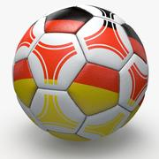 Soccerball pro triangoli Germania 3d model
