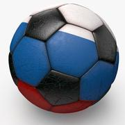 Soccerball Russie 3d model