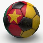 Soccerball Cameroun 3d model