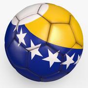 Soccerball pro clean Bosnia 3d model