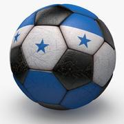 Soccerball Honduras 3d model