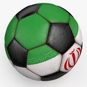 Soccerball Iran 3d model
