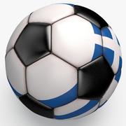 Soccerball pro clean Grecia nera 3d model