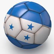Футбольный мяч про чистый Гондурас 3d model