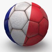 Soccerball pro France 3d model