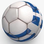 Soccerball pro Greece 3d model