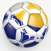 Soccerball pro triangles Bosnia 3d model