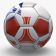 智利职业足球三角形 3d model