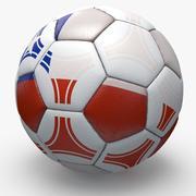 Soccerball pro triangles Colombia 3d model