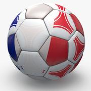 Soccerball pro triangles France 3d model