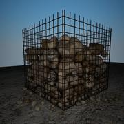 岩石碎片4 3d model