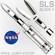SLS Block II Cargo 3d model