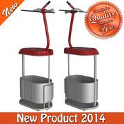 4型索道椅 3d model