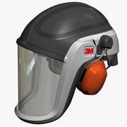 3M Versaflo M-306 TR-300头盔 3d model
