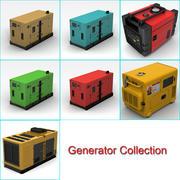 Stromerzeuger-Sammlung 3d model