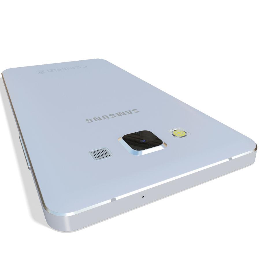 삼성 갤럭시 A5 실버 royalty-free 3d model - Preview no. 7