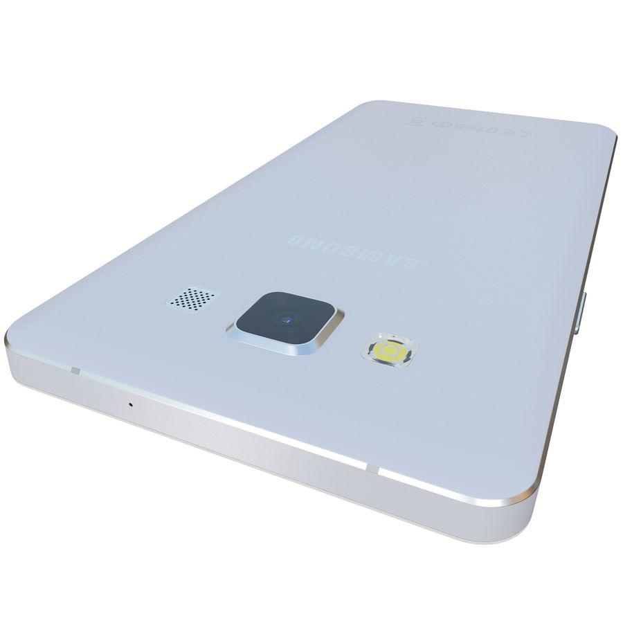 삼성 갤럭시 A5 실버 royalty-free 3d model - Preview no. 10