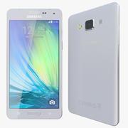 Samsung Galaxy A5 Prata 3d model