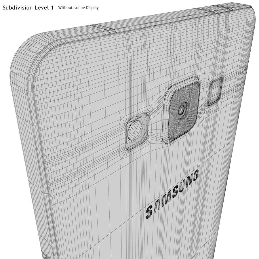 삼성 갤럭시 A5 실버 royalty-free 3d model - Preview no. 24