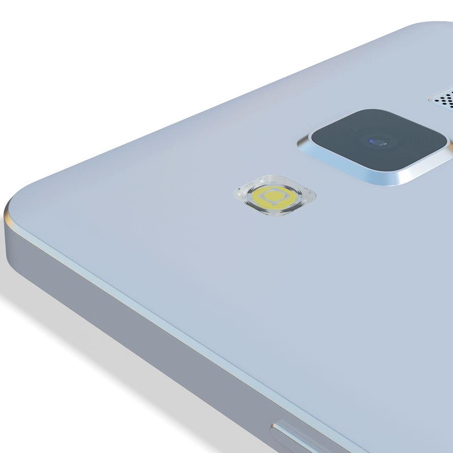 삼성 갤럭시 A5 실버 royalty-free 3d model - Preview no. 14