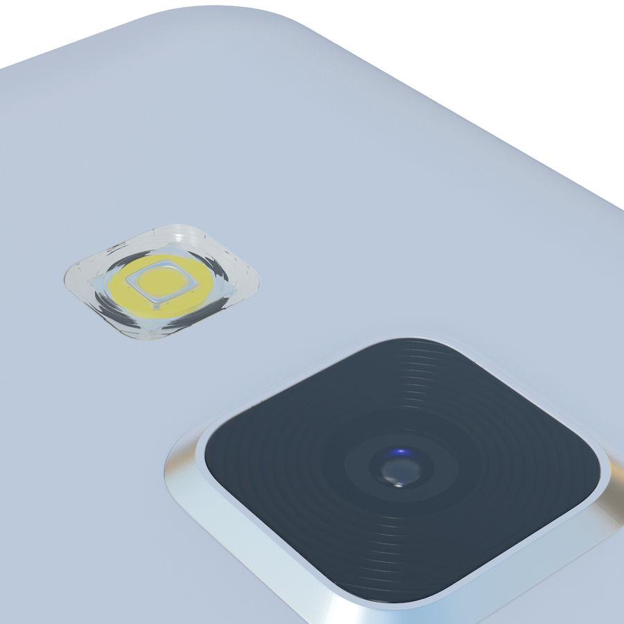 삼성 갤럭시 A5 실버 royalty-free 3d model - Preview no. 16