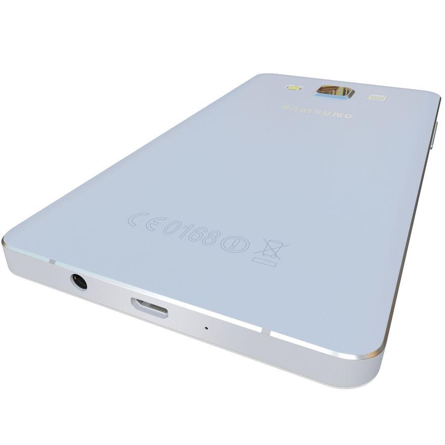 삼성 갤럭시 A5 실버 royalty-free 3d model - Preview no. 9