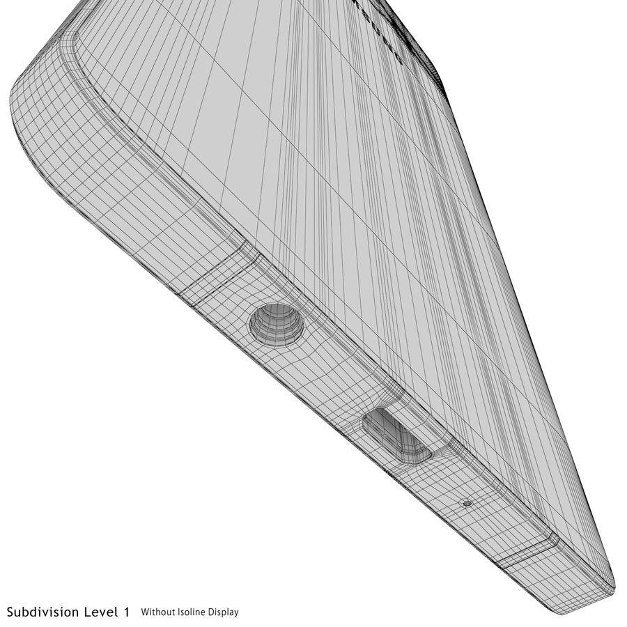 삼성 갤럭시 A5 실버 royalty-free 3d model - Preview no. 26
