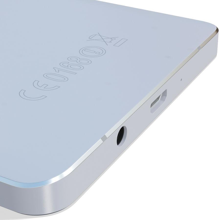 삼성 갤럭시 A5 실버 royalty-free 3d model - Preview no. 15