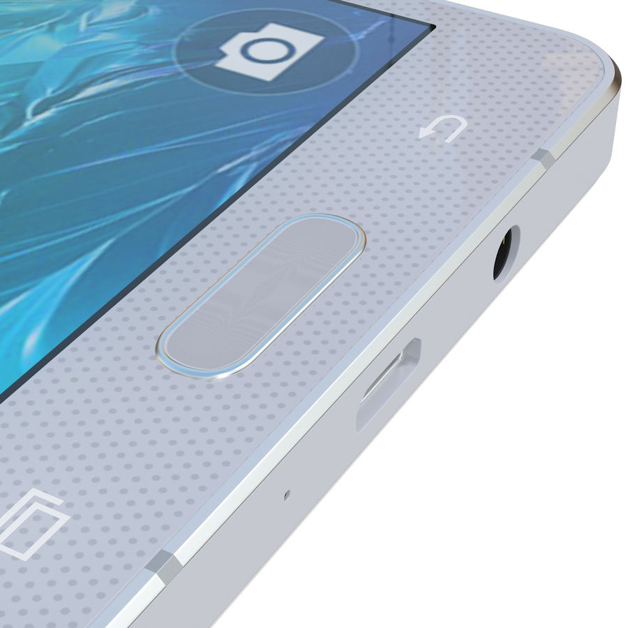 삼성 갤럭시 A5 실버 royalty-free 3d model - Preview no. 17