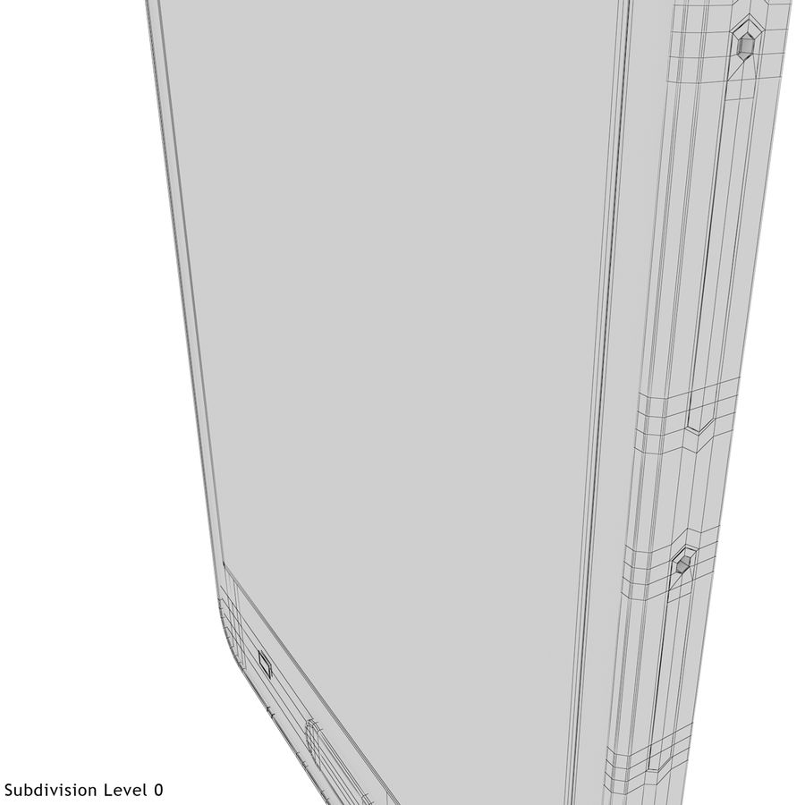 Samsung Galaxy A5 Blue royalty-free 3d model - Preview no. 29