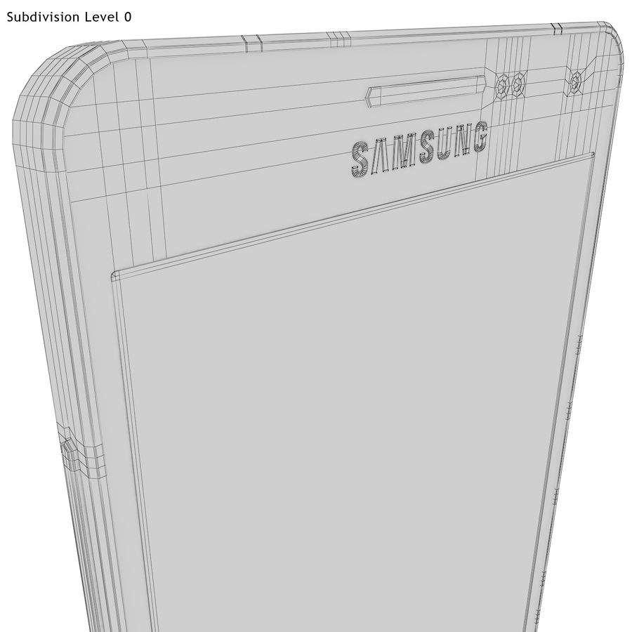 Samsung Galaxy A5 Blue royalty-free 3d model - Preview no. 27