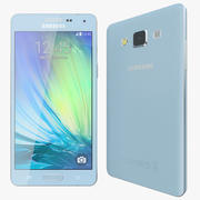 삼성 갤럭시 A5 블루 3d model