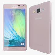 삼성 갤럭시 A5 핑크 3d model