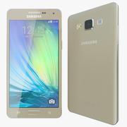 Samsung Galaxy A5 Gold 3d model