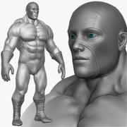 Super held man 3d model