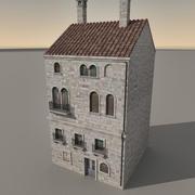 Italiaans gebouw 022 3d model