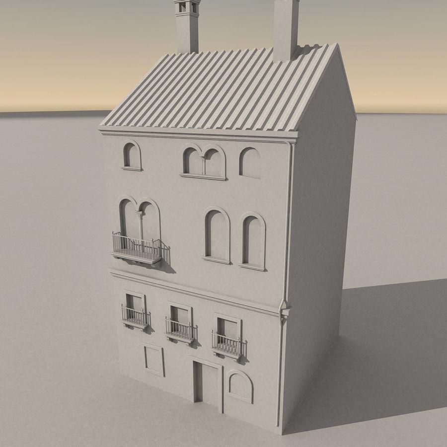 Italiaans gebouw 022 royalty-free 3d model - Preview no. 10