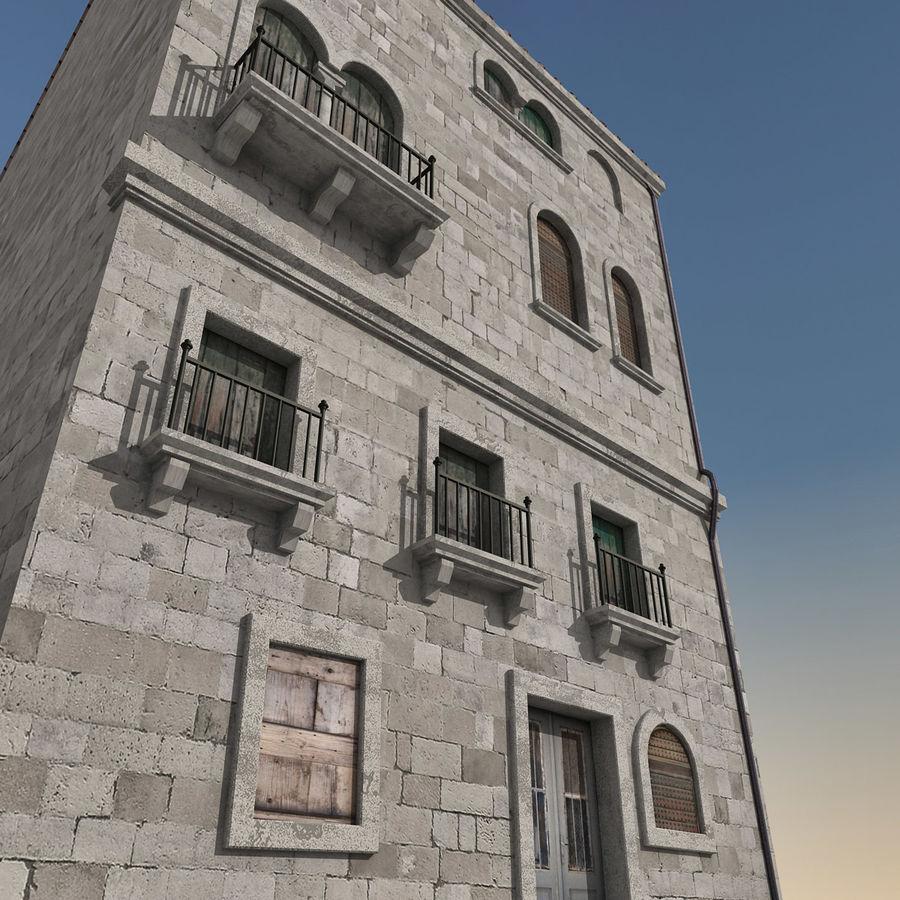 Italiaans gebouw 022 royalty-free 3d model - Preview no. 3