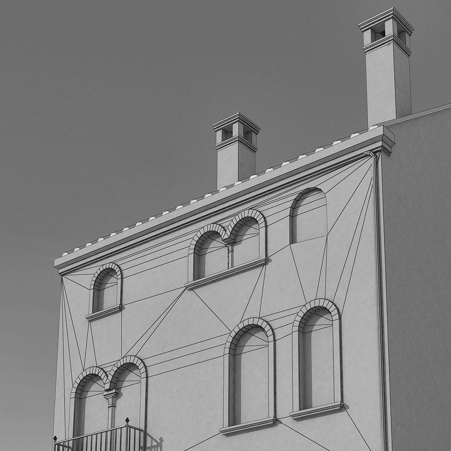 Italiaans gebouw 022 royalty-free 3d model - Preview no. 11
